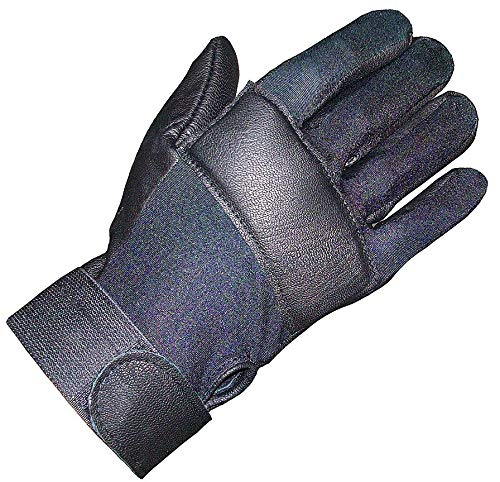 Impacto Anti-Vibration Gloves, Leather, Air Gel Padding Palm Material, Black, M, EA 1 - IP413-50ML