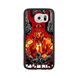JiHuaiGu (TM) Samsung Galaxy S6 funda Negro CONAN personalizado temático Samsung Galaxy S6 funda HF0427
