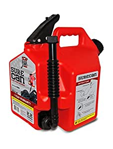 SureCan - Gas Can with Rotating Spout - 2.2 Gallon