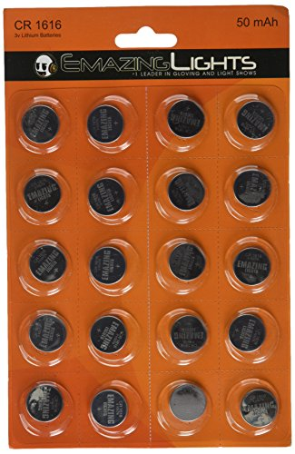 Emazing Lights CR1616 3 Volt Button Cell Lithium - Watch Batteries Cr1616