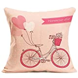 Throw Pillow Cover, DaySeventh Fashion Throw Pillow Cases Cafe Sofa Cushion Cover 18x18 Inch 45x45 cm