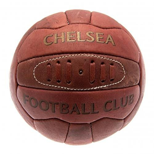 Chelsea FC Official Football Gift Retro Heritage Football - A Great Christmas / Birthday Gift Idea For Men And Boys by Official Chelsea FC Gifts by Official Chelsea FC Gifts