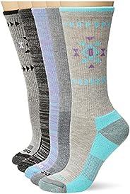 Dickies womens Dritech Advanced Moisture Wicking Crew Sock 6-pack