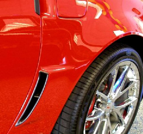2006-2013 Corvette Z06 Cleartastic Paint Protector Rear Fender Flare