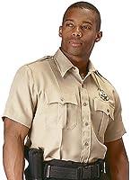 Khaki Official Security Uniform Short Sleeve Shirt 30035 Size 2X Large