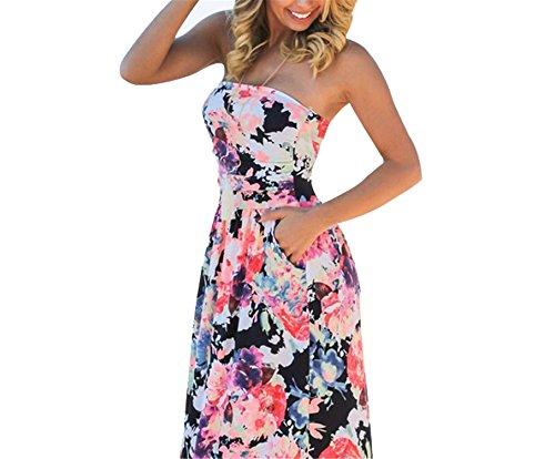 Leonila Cou Fashion off ombro boho longo maxi dress mulheres túnica robe femme vestidos pavimento length dress vestido de (Dillards Robes)