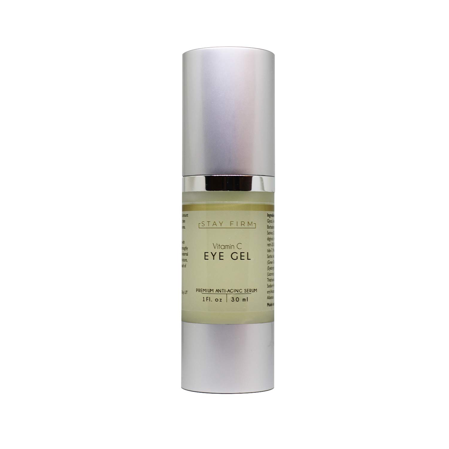 Vitamin C Eye Gel with Collagen-Building Properties to Reduce the Appearance of Under-Eye Dark Circles and Eye Wrinkles, Serum for Eye Puffiness - Stay Company
