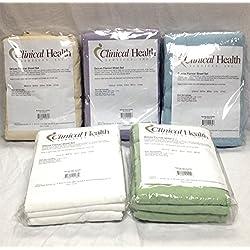 Therapist's Choice® Deluxe Flannel Massage 3 Piece Sheet Set- Sage Green