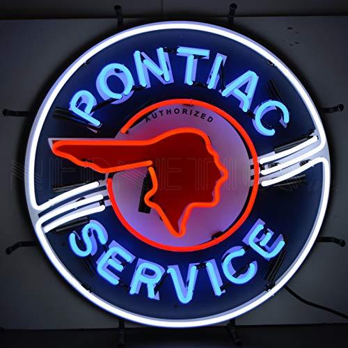 Pontiac Service Neon Sign - Sign Angels Neon Anaheim