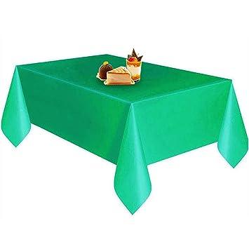 8a2c335008 RaiFu テーブルクロス テーブルカバー 使い捨て 無地 プラスチック 着用 ピクニック 結婚式 宴会 レストラン 装飾 便利