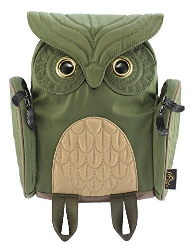 Mohn creation eared owl classical music backpack S olive OW-303OLV by Horned owl bag