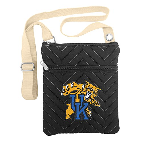 NCAA Kentucky Wildcats Chev-Stitch Cross Body Purse (Wildcats Purse)
