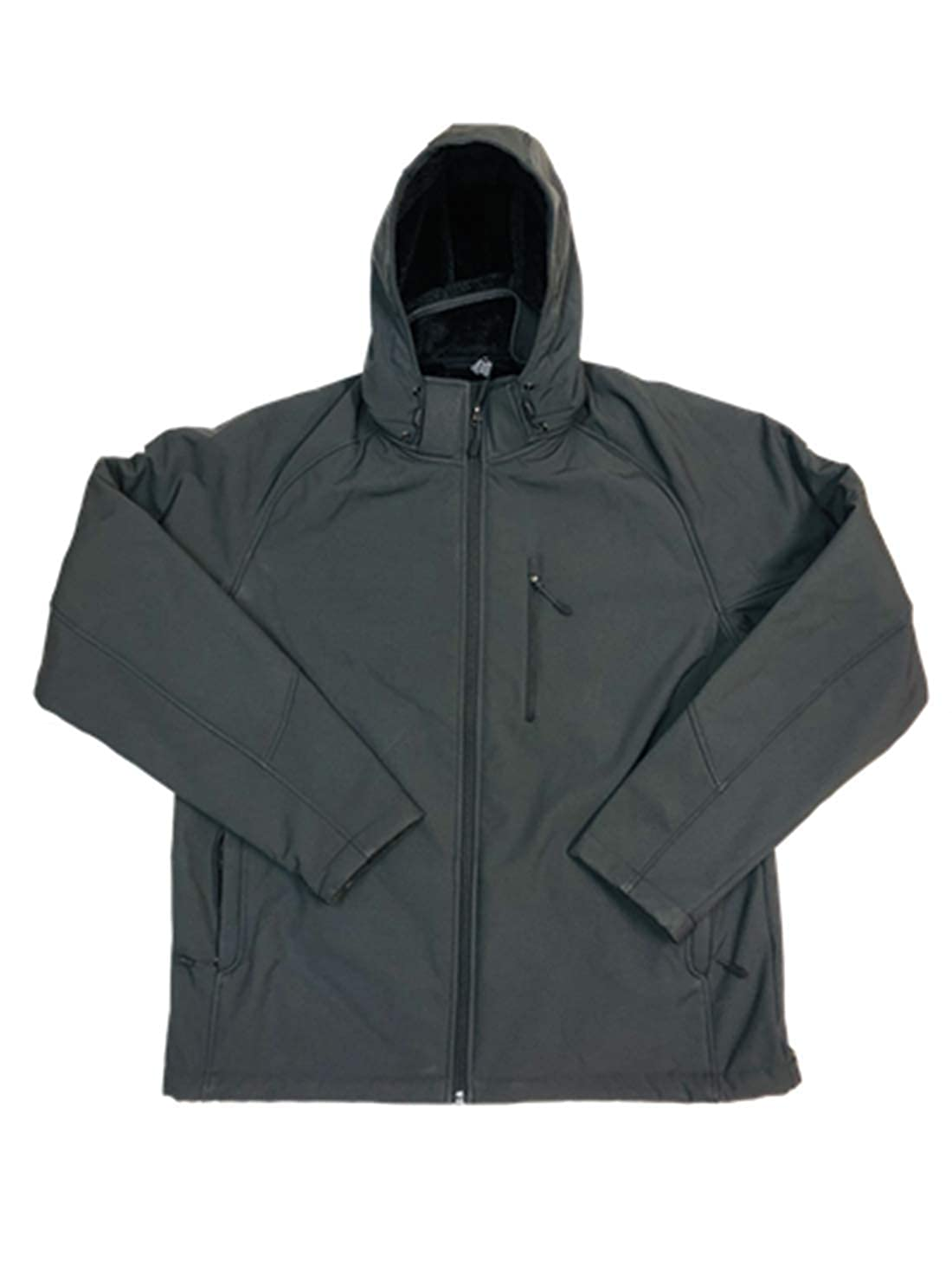 Kirkland Signature Mens Sherpa Lined Softshell Detachable Hood