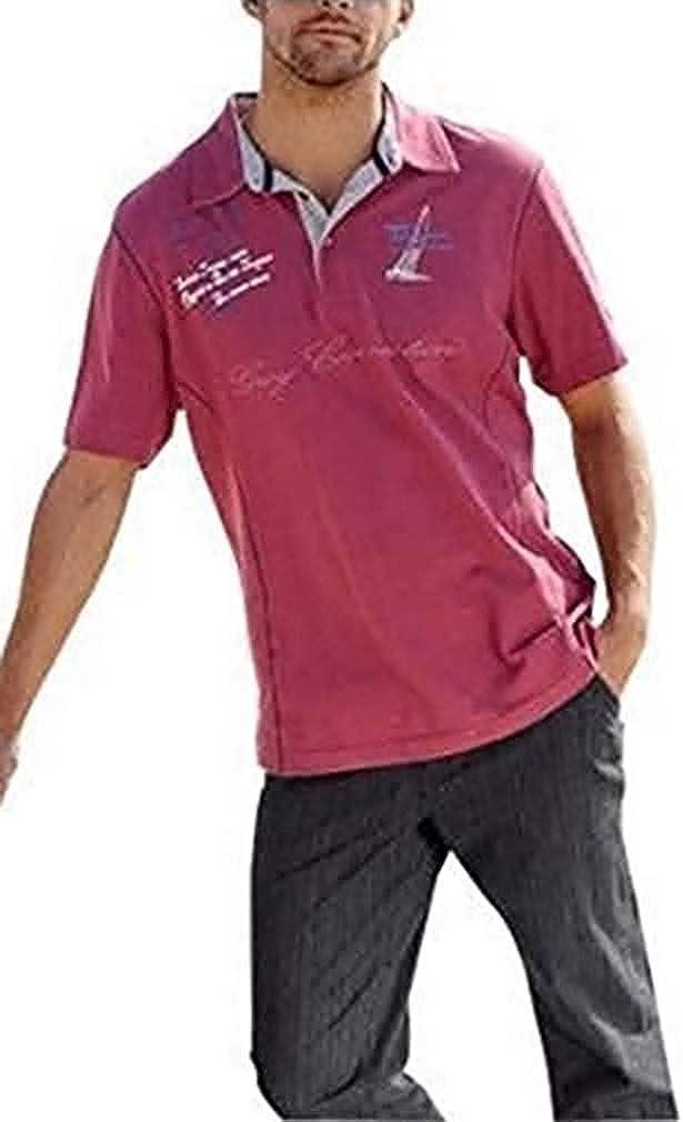 Camiseta polo para Hombre de Haydon en Fucsia - algodón, Fucsia ...