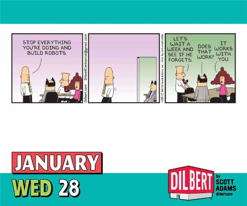 Free Comic Book Day Dubai: Dilbert 2015 Day-to-Day Calendar