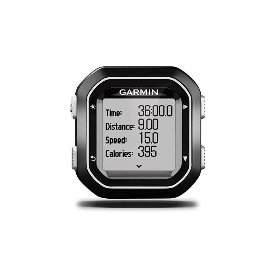 Garmin Edge 25 GPS Cycling Computer 010 03709 20 with Garmin Speed and Cadence Sensors with extra Wearable4U Wall Charging Adapter Bundle
