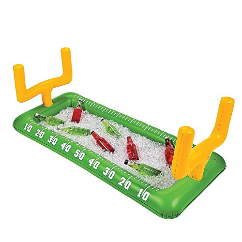 Football Field Goal Post Inflatable Buffet Snack Bar Cooler - Tailgate & Home Party Supplies ()