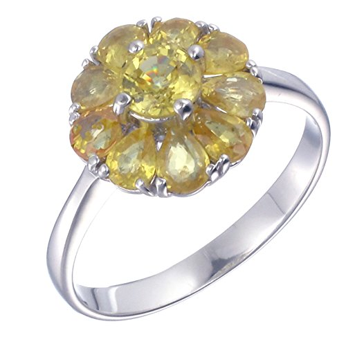 Sterling-Silver-Yellow-Sapphire-Ring-185-CT-In-Size-7
