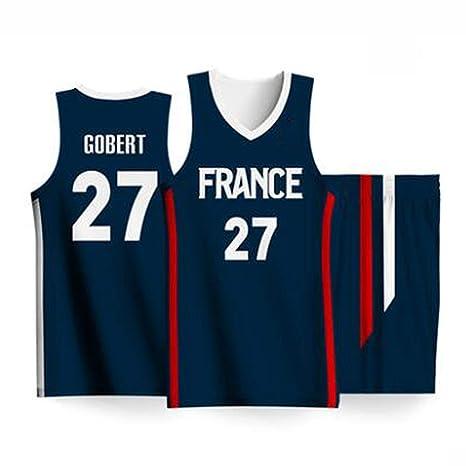 Camiseta de baloncesto para hombre 2019 - # 27 Gobert Basketball ...