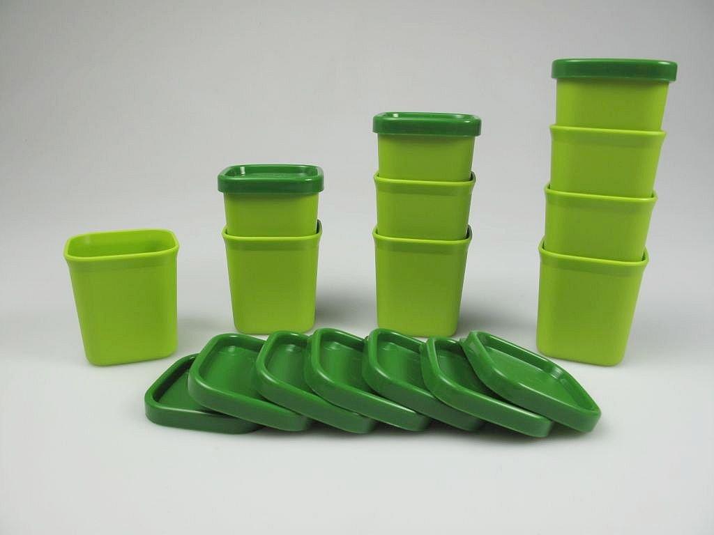 Tupperware Microondas Micro Gourmet Moldes verde (10) Vapor ...