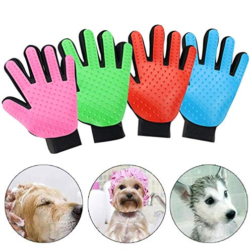 PerfectPrice 1 PC Pet Dog Hair Brush Glove for Pet Cleaning Massage Grooming Supply Glove for Animal Cleaning Cat Hair Glove