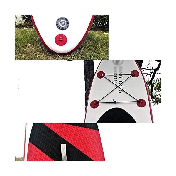 Kanqingqing-Sport Stand Up Paddel Gonfiabile 31.5 Pollici Wide Lago Gonfiabile SUP Stand Up Paddle Water Board Yoga SUP… 3 spesavip