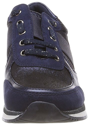 Navy Tozzi 23711 Women's Low 890 2 Marco Sneakers 31 2 Comb Top Blue vURxaqZnd