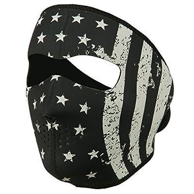 Neoprene Full Face Mask - Vintage Flag OSFM