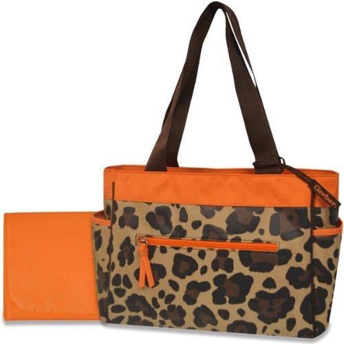 Gerber Diaper Tote Bag, Orange/Brown Che - Gerber Diaper Bag Shopping Results