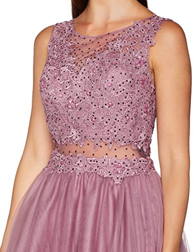 Laona Cocktail Dress, Vestido para Mujer Rosa (Rose Wine 8077)