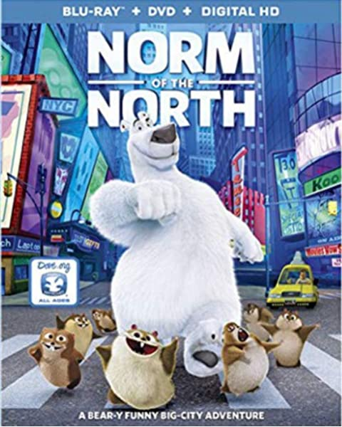Amazon Com Norm Of The North Blu Ray Dvd Digital Hd Rob Schneider Heather Graham Bill Nighy Zachary Gordon Ken Jeong Colm Meaney Janet Varney Loretta Devine Jamie Lissow Gabriel Iglesias Jess