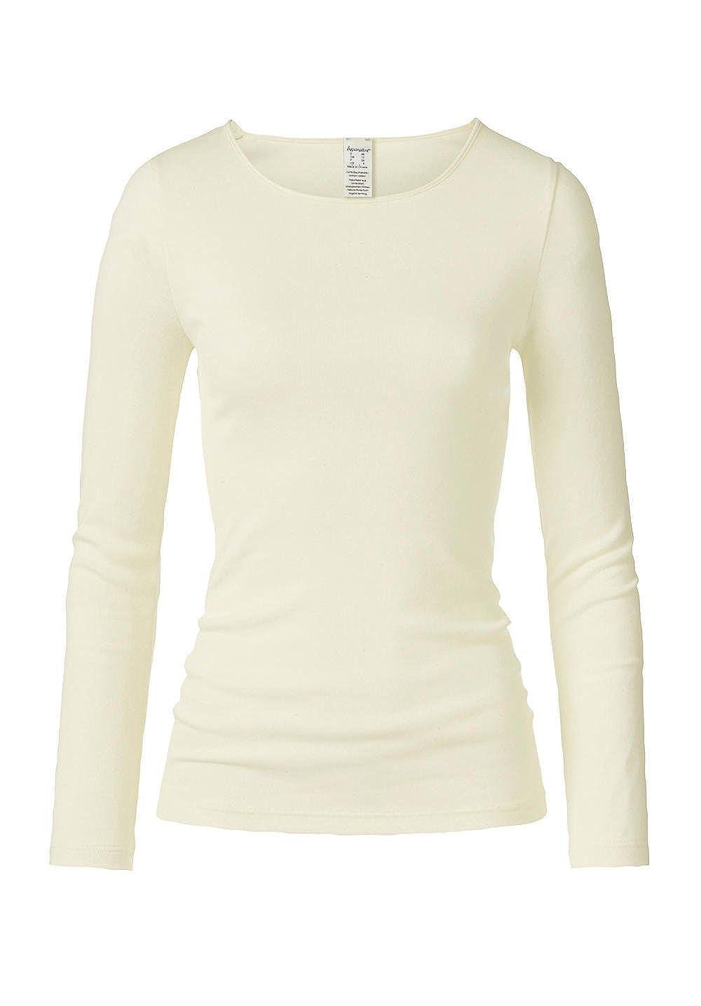 hessnatur Damen-Wäsche Shirt PureNATURE aus Reiner Bio-Baumwolle Damen