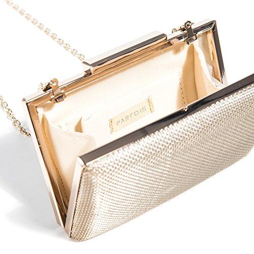 Bag Parfois Parfois Light Party Clutch Forever Women Forever Gold qvHwrvnX