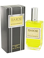 Tea Rose by Perfumer's Workshop for Women - 4 Ounce...