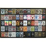 The Playing Card Frame - 60 Deck Acrylic Playing Card Display by Collectable Playing Cards