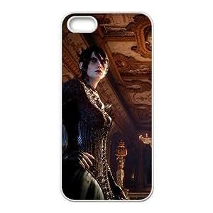 Custom for iPhone 4 4s Cell Phone Case White Morrigan Theme DG1634