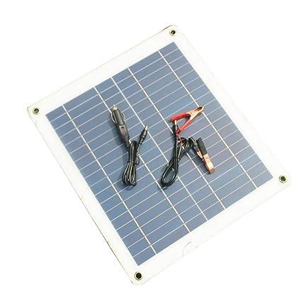 SJZC Energia Solar Tablero de bateria El Cargador Cargar 12V ...