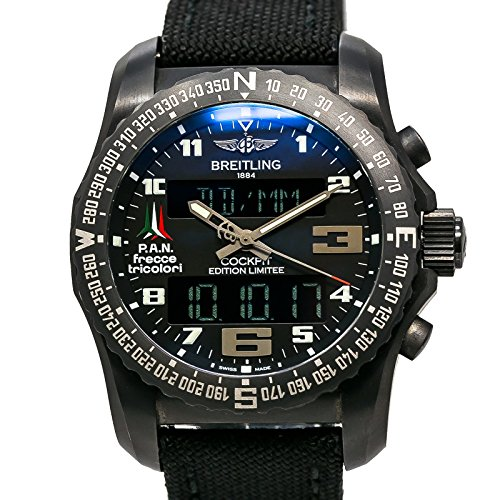 Breitling Cockpit swiss-quartz mens Watch VB5010 (Certified Pre-owned) by Breitling (Image #3)