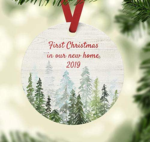First Christmas In Our New Home 2019.Christmas Ornament First Christmas In Our New Home 2019