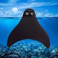 Aleta para natación en forma de cola de sirena (1 pieza), para niños y adultos, guay juguete acuático