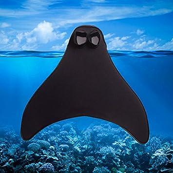 Aleta para natación en forma de cola de sirena (1 pieza),
