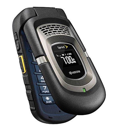 Kyocera DuraMax E4255 PTT Rugged Black Sprint (Sprint Flip Cell Phones)