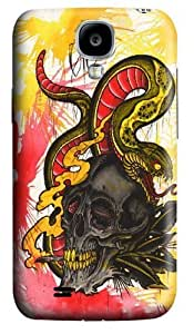 Mariachi Skull Polycarbonate Hard Case Cover for Samsung Galaxy S4/Samsung Galaxy I9500 3D