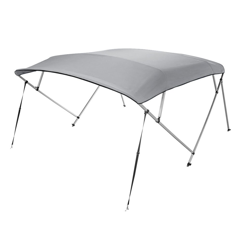 "Bimini Top Boat Cover Square Tube 4 Bow 54""h 91-96w 12 ft. L Gray by 4 Seasons"