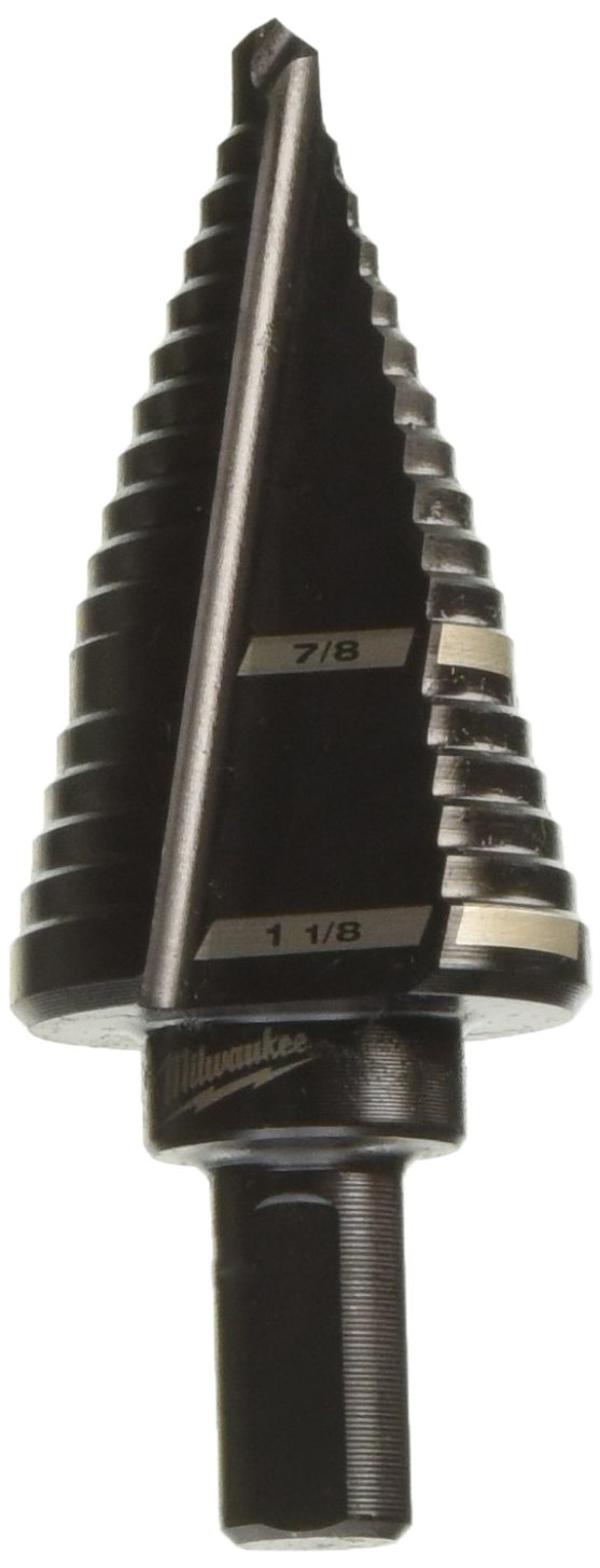 Milwaukee 48-89-9209 Bit 7/8 In. To 1-1/8 In. Step Drill by Milwaukee Electric Tool