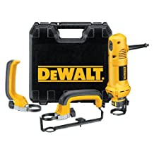 DEWALT DW660SK 5-Amp 30,000 RPM Rotary Cut-Out Tool with 1/8-Inch and 1/4-Inch Collets, Side Handle, and Circle Cutter