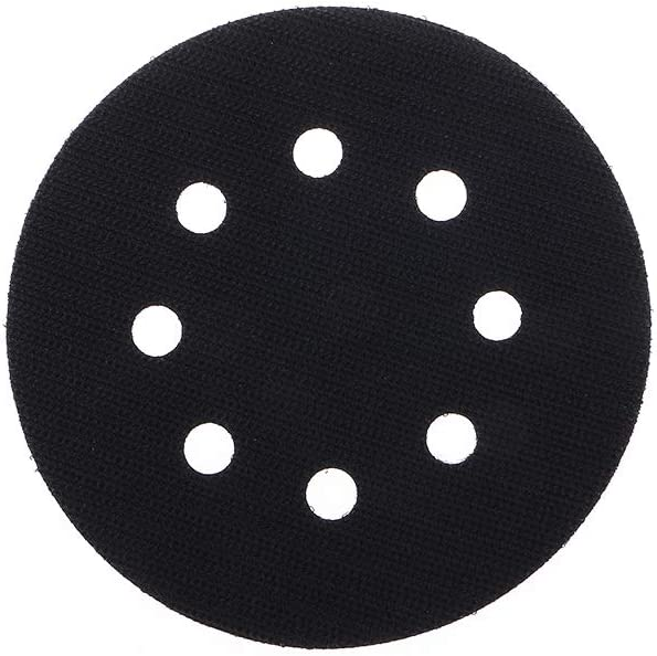 8 Holes Ultra-Thin Surface Protection Interface Pad for Sanding Pads and Hook/&Loop Sanding Discs Thin Sponge 125mm Fafababy 5 Inches