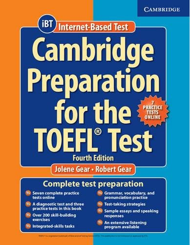 Cambridge Preparation for the TOEFL Test Book with Online Practice Tests and Audio CDs (8) Pack by Cambridge University Press