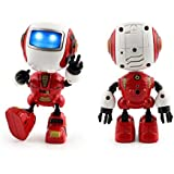 Owill Sensing Touch Multi Function Toy Music Smart Mini Alloy Robot/ Good Gift to Your Kids (Red)