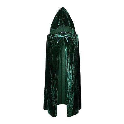 Amazon.com: Unisex bruja de Halloween capa con capucha ...